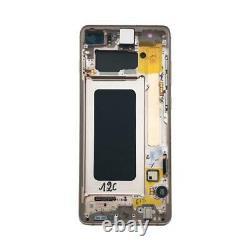 100% ORIGINAL LCD Touchscreen Display Einheit Samsung Galaxy S10+ Plus G975F