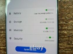 1TB Samsung Galaxy S10+ Plus G975U1 (Factory Unlocked) White TINY SPOT ON LCD