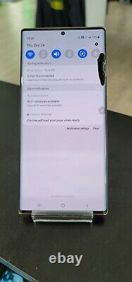 BAD LCD/CLEAN! Samsung Galaxy Note20 Ultra 5G 128GB Bronze (Unlocked) Y0221-1201