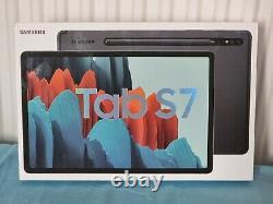 BNIB SEALED SAMSUNG Galaxy Tab S7 11 WiFi+4G Tablet 128GB SM-T875 Mystic BLACK