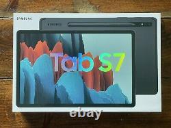 Brand New Sealed Samsung Galaxy Tab S7 512GB Wi-Fi 11, Mystic Black, 8GB RAM