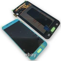 Display LCD Komplettset Touchscreen Blau für Samsung Galaxy S6 G920F GH97-17260D