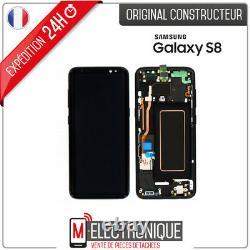 Ecran LCD Noir Original Samsung Galaxy S8 G950F