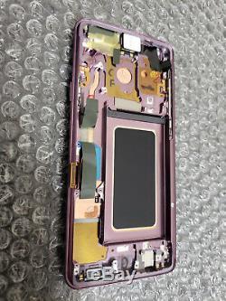Fair Samsung Galaxy S9 Plus G965U G965 LCD Digitizer Frame Lilac Purple