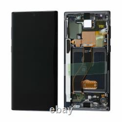 For Samsung Galaxy Note 10 Note 10 Plus LCD Display Touch Screen Digitizer+Frame