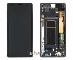 For Samsung Galaxy Note 9 N960F LCD Display Touch Screen+Frame Replacement Black