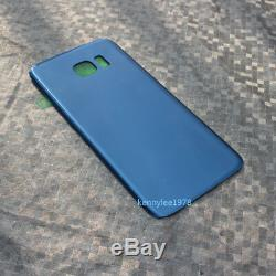 For Samsung Galaxy S7 Edge G935F LCD Display+Touch Screen+frame+Coral blue+cover