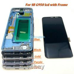 For Samsung Galaxy S8 G950 / S8+ Plus G955 LCD Display Touch Screen Digitizer