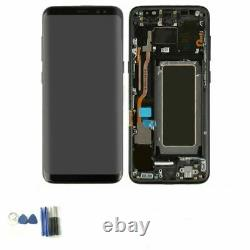 For Samsung Galaxy S8 G950 SM-G950F LCD Display Touch Screen Digitizer +Frame UK