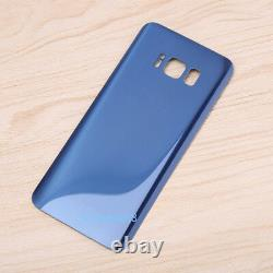 For Samsung Galaxy S8 G950F LCD Display Touch screen Digitizer blue+frame+cover
