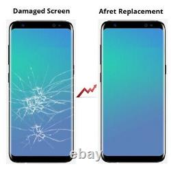 For Samsung Galaxy S8 LCD Screen Replacement Part Digitizer With Frame Portable