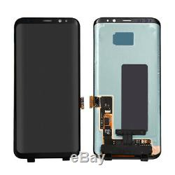 For Samsung Galaxy S8 S8+ Plus LCD Display Touch Screen Digitizer Assembly Black