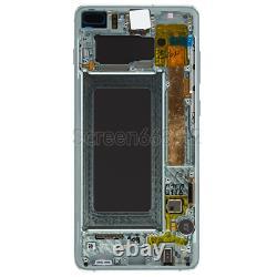 Für Samsung Galaxy S10+ Plus G975F LCD Display Touch Screen Glas Bildschirm Grün