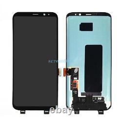Für Samsung Galaxy S8 SM-G950F LCD Display Touch Screen Bildschirm Schwarz +Tool