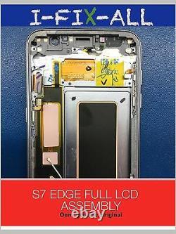 GENUINE ORIGINAL Samsung Galaxy S7 Edge LCD G935 Screen Display Touch Digitizer