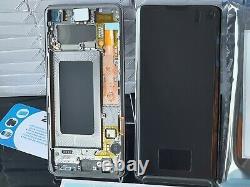 Genuine Samsung Galaxy S10 Sm- G973f Green LCD Service Pack New Original Screen