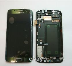 Genuine Samsung Galaxy S6 Edge G925f Green LCD Service Pack New Display Screen