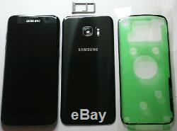 Genuine Samsung Galaxy S7 Edge G935f LCD Screen Display Digitizer Black In Frame