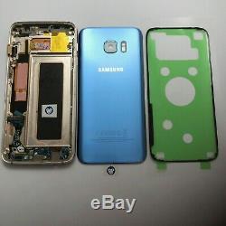 Genuine Samsung Galaxy S7 Edge G935f LCD Screen Display Digitizer Blue