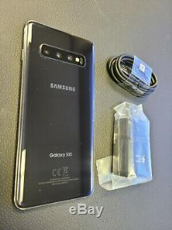 Great Samsung Galaxy S10 128GB G973 Prism Black Bad LCD