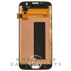 LCD Digitizer Assembly for Samsung Galaxy S7 Edge Pink Gold Display Screen Video