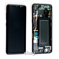 LCD S8 G950f Ecran LCD Tactile Samsung Galaxy Avec Chassis Noir