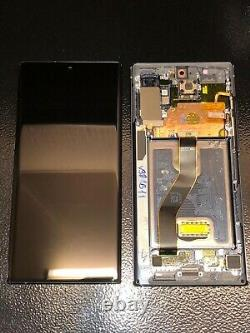 LCD Touch Screen Assembly For Samsung Galaxy Note 10 Plus 5G Black