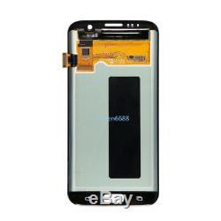 Lcd Display Touch Screen Ricambio Per Samsung Galaxy S7 edge SM-G935F G935 Nero