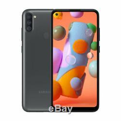 New Samsung Galaxy A11 Black 32GB SM-A115F/DS 6.4 LCD 13MP Dual SIM Smartphone