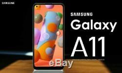 New Samsung Galaxy A11 White 32GB SM-A115F/DS 6.4 LCD 13MP Dual SIM Smartphone