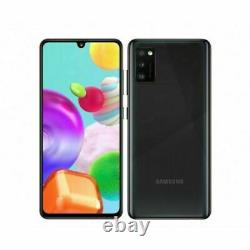 New Samsung Galaxy A41 Black 64GB 4G 6.1 LCD 48MP Dual Sim Unlocked Smartphones