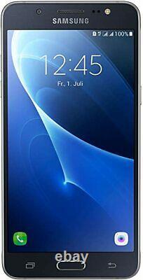 New Samsung Galaxy J5 2016 Black 8GB 5.2 LCD 4G LTE GPS Unlocked Smartphone UK
