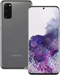 New Samsung Galaxy S20 5G 128GB Black 6.2 LCD 64MP NFC GPS Unlocked Smartphone