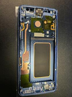 New Samsung Galaxy S9 Plus G965U G965 LCD Digitizer Frame Screen Blue