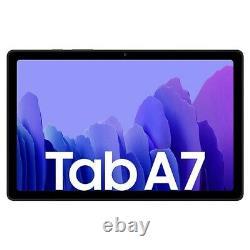 New Samsung Galaxy Tab A7 Black 10.4 LCD 32GB WIFI + 4G GPS Smart Tablet UK