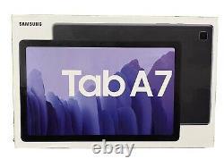 New Sealed Samsung Galaxy Tab A7 10.4 64GB SM-T500 Gray + 64GB MicroSD Card