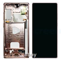 OEM Samsung Galaxy Note 20 N980 5G N981 AMOLED LCD Screen Digitizer Frame