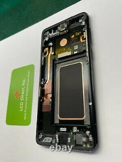OEM Samsung Galaxy S9 S9 Plus LCD Replacement Screen Digitizer with Frame (A+)