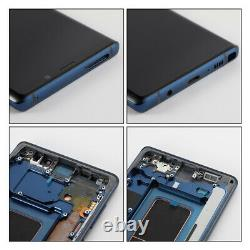 OLED Display LCD Touch Screen Digitizer + Frame For Samsung Galaxy Note 9 Blue