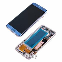 OLED For Samsung Galaxy S7 Edge G935F LCD Display Touch Screen Replacement+Frame