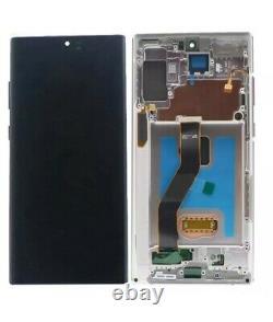 Original Display Samsung Galaxy Note10 Plus SM-N975F LCD Glas Screen Aura Silver