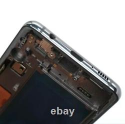 Original Display Samsung Galaxy S10 SM-G973F Schwarz LCD Touch Screen Bildschirm