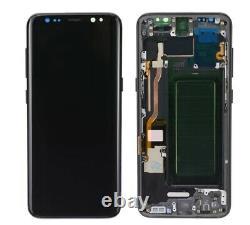 Original Display Samsung Galaxy S8 SM-G950F Schwarz Bildschirm LCD Touchscreen