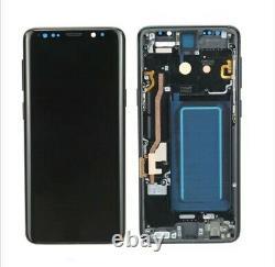 Original Display Samsung Galaxy S9 SM-G960F LCD Touch Screen Bildschirm Schwarz