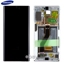 Original Samsung Galaxy Note 10 Plus SM-N975F LCD Display Touch Screen Aura Weiß