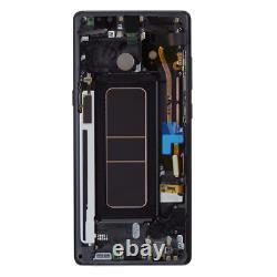 Original Samsung Galaxy Note 8 N950F LCD Display Touch Screen Bildschirm Schwarz