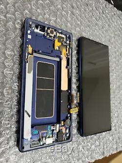 Original Samsung Galaxy Note 9 SM-N960F Display LCD touchscreen Rahmen blau