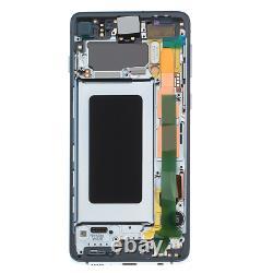 Original Samsung Galaxy S10 G973F LCD Display Touch Screen Bildschirm Prism Blau