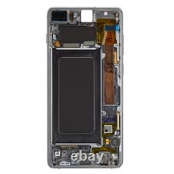 Original Samsung Galaxy S10 Plus G975F LCD Display+Touch Screen Bildschirm Black