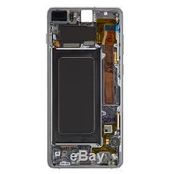 Original Samsung Galaxy S10 Plus G975F LCD Display+Touch Screen Digitizer Black